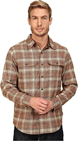 Performance Flannel Long Sleeve Overshirt