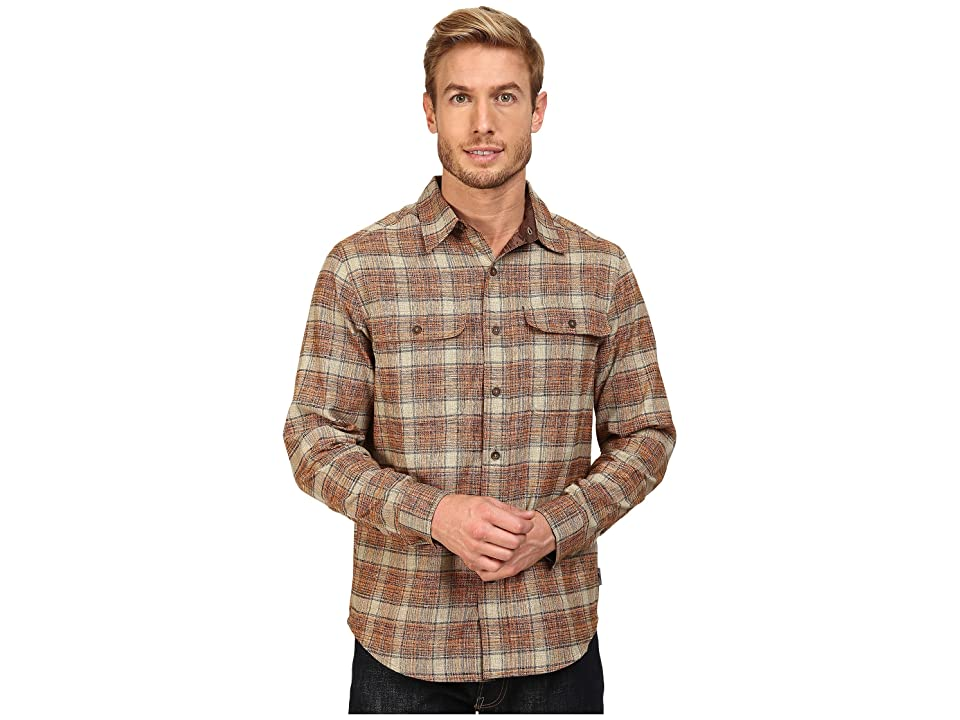 Royal Robbins Performance Flannel Long Sleeve Overshirt (Fox) Men