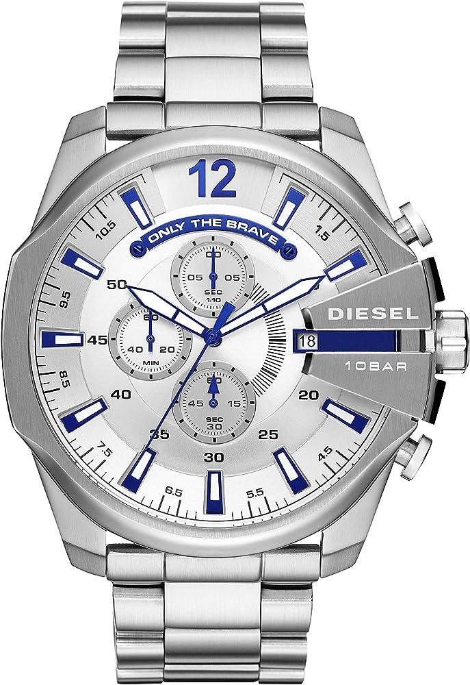 Diesel orologio analogico con cronografo  uomo in acciaio inossidabile DZ4477