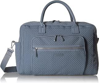 Vera Bradley Women's Iconic Weekender Travel Bag Vera, Charcoal
