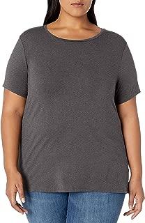 Women's Plus Size Short-Sleeve Crewneck T-Shirt