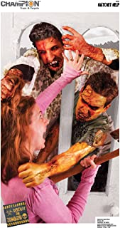 Champion Traps and Targets Hatchet Help Zombie Target (Pack of 10, 24x45)