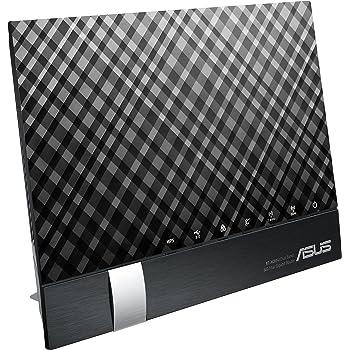 ASUS デュアルバンド WiFi 無線LAN ルーター RT-AC65U 11ac デュアルバンド AC1900 1300+600Mbps 最大15台 4LDK 3階建向け MU-MIMO対応