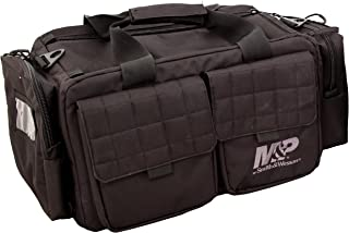 SMITH & WESSON S&W and M&P Tactical Range Bags with Weather Resistant Material for Shooting, Range, Storage and Transport