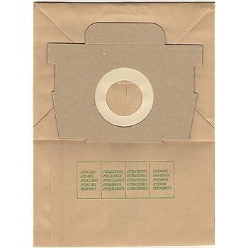 10 Sacchetto per aspirapolvere per Rowenta City Space RO 2423 Sacchetto per la Polvere Sacchetti Di Filtro