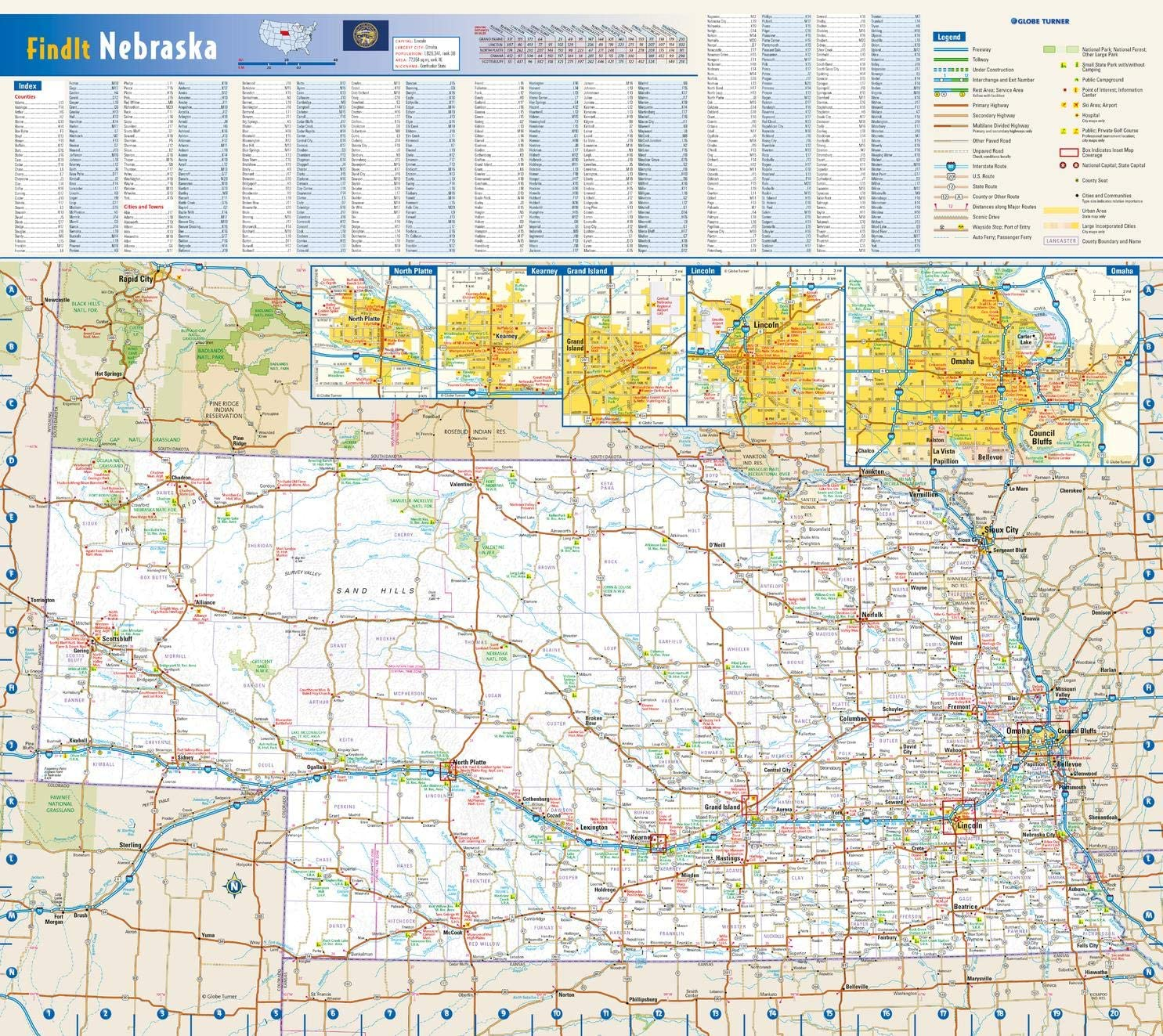 Nebraska State Wall Map Directly Our shop OFFers the best service managed store - 18.5
