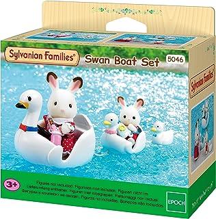 SYLVANIAN FAMILIES- Swan Boat Set Mini muñecas y Accesorios