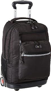 حقيبة ظهر متدحرجة للكمبيوتر المحمول من جيه ورلد نيويورك صنددانس 2 للمدرسة والسفر