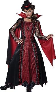 California Costumes Victorian Vampira Child Costume, Medium