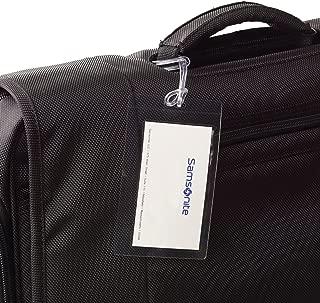 Samsonite Self-Laminating Luggage Tags, 3-Pack, Clear (Clear) - 50379-1212