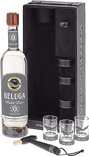 Beluga Russian Vodka Gold Line Leather mit 3 Gläser 1 x 0.7 l, 11959700