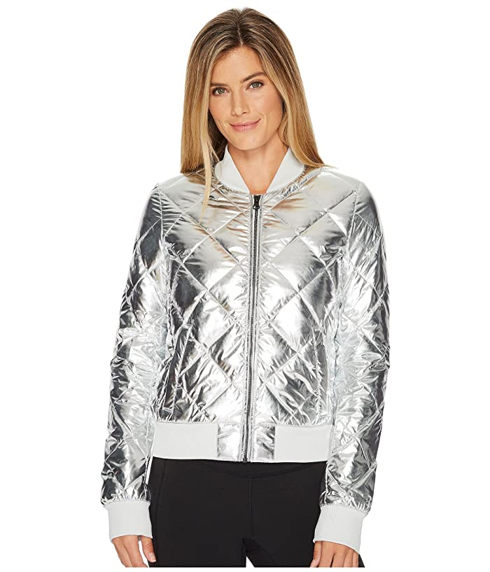 ALO Idol Bomber Jacket (Silver) Women