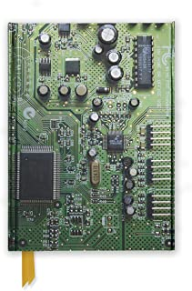 Circuit Board Green (Foiled Journal) (Flame Tree Notebooks)