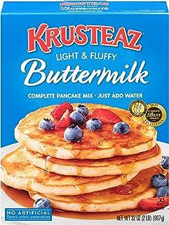 Krusteaz Light & Fluffy Complete Buttermilk Pancake Mix (2 Pound (Pack of 2))