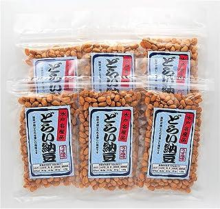 水戸名産 どらい納豆 うす塩味 80g入×6個パック(計480g)