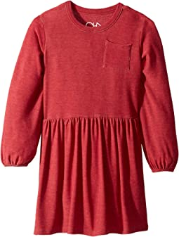 Mini Dress with Pocket (Little Kids/Big Kids)