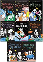 Funny Bones 8 Books Collection Set by Allan Ahlberg ( Bumps in the Night, Dinosaur Dreams, Give the Dog a Bone, Mystery To...