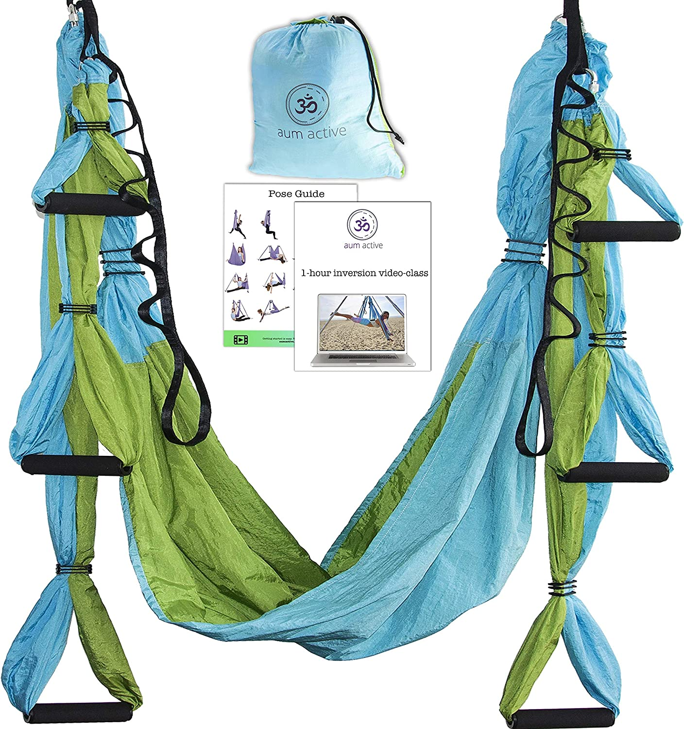 Yoga Hammock Swing Trapeze Quality inspection Larg Cheap sale Set: Ultra Strong