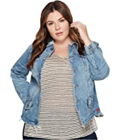 Lucky Brand - Plus Size Waisted Trucker Jacket
