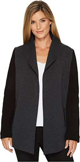 Calvin Klein - Open Front Jacket with Pockets