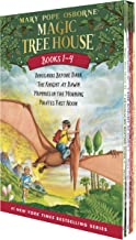 Magic Tree House Boxed Set, Books 1-4: Dinosaurs Before Dark, The Knight at Dawn, Mummies in the Morning, and Pirates Past...