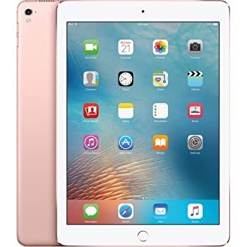 Apple iPad Pro Tablet (32GB, Wi-Fi, 9.7') Rose Gold (Renewed)