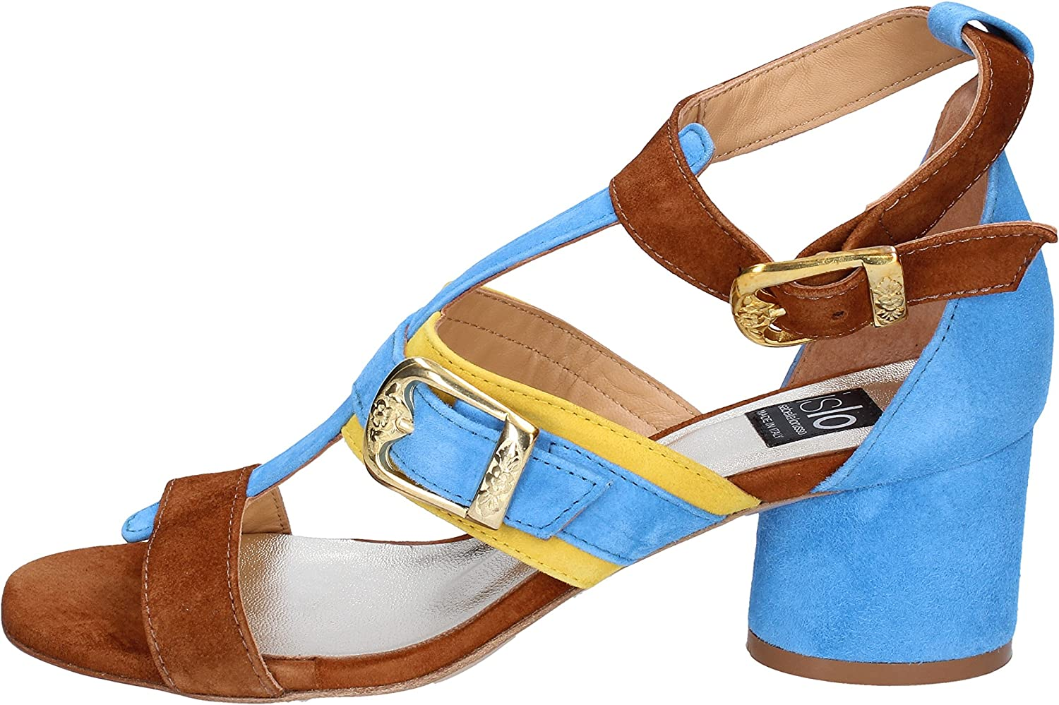 ISLO Sandals Womens Suede bluee