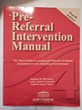 Pre-Referral Intervention Manual-Fourth Edition