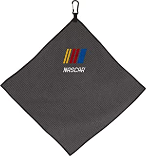 "Team Effort NASCAR NASCAR 15"" x 15"" Grey Microfiber Towel"