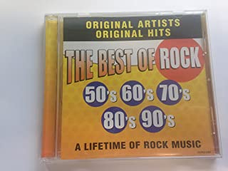 The Best of Rock: 50's 60's 70's 80's 90's, a Lifetime of Rock Music