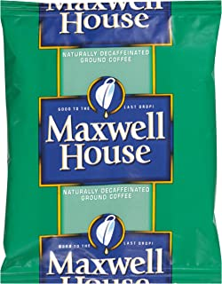 Maxwell House Shy Decaf Ground Coffee (1.5 oz Bags, Pack of 42)