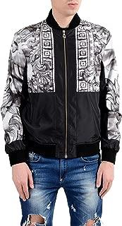 Collection Men's Multi-Color Full Zip Windbreaker Jacket Size US L IT 52