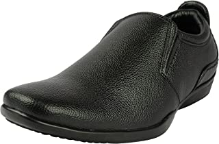 BELLY BALLOT Men's Leather Loafers