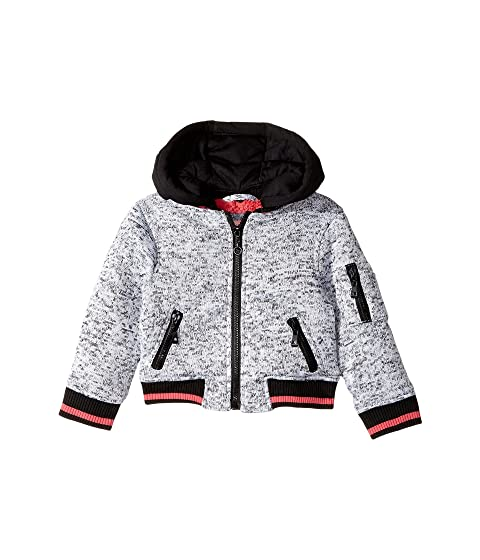 89a0643856bc Urban Republic Kids Melange Fleece Bomber with Woobie Lining ...