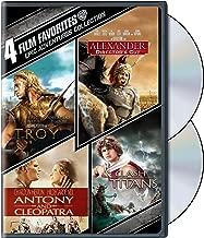 4 Film Favorites: Epic Adventures (Alexander / Antony & Cleopatra / Clash of the Titans / Troy)