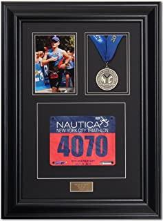 framing marathon medals and bibs