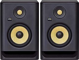 "KRK RP5 Rokit 5 G4 Professional Bi-Amp 5"" Powered Studio Monitor Pair, Black"