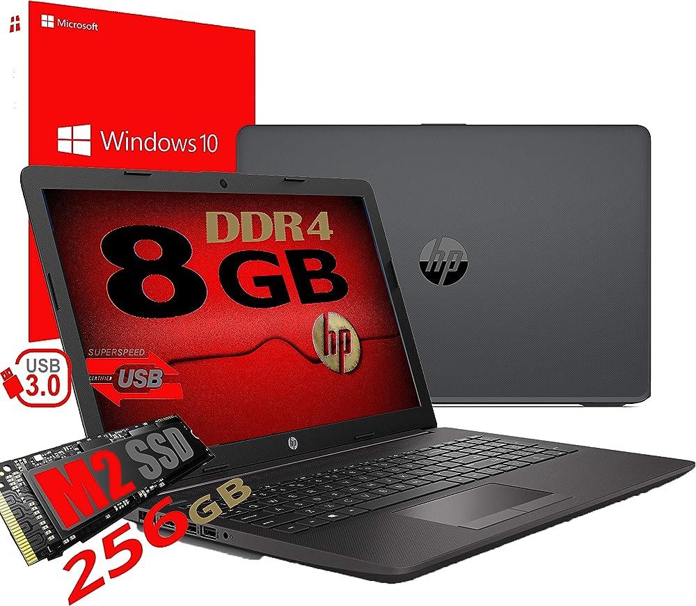 Notebook pc portatile hp 255 g7 display 15.6