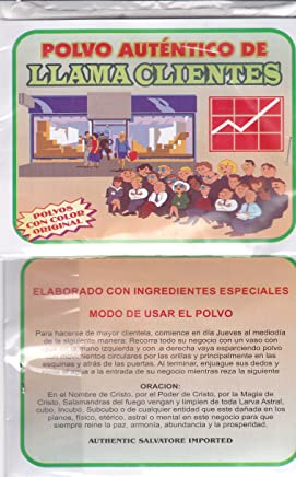 LLAMA CLIENTES POLVO AUTENTICOS POWDER (1 PKT) 1oz. from HibiscusExpress
