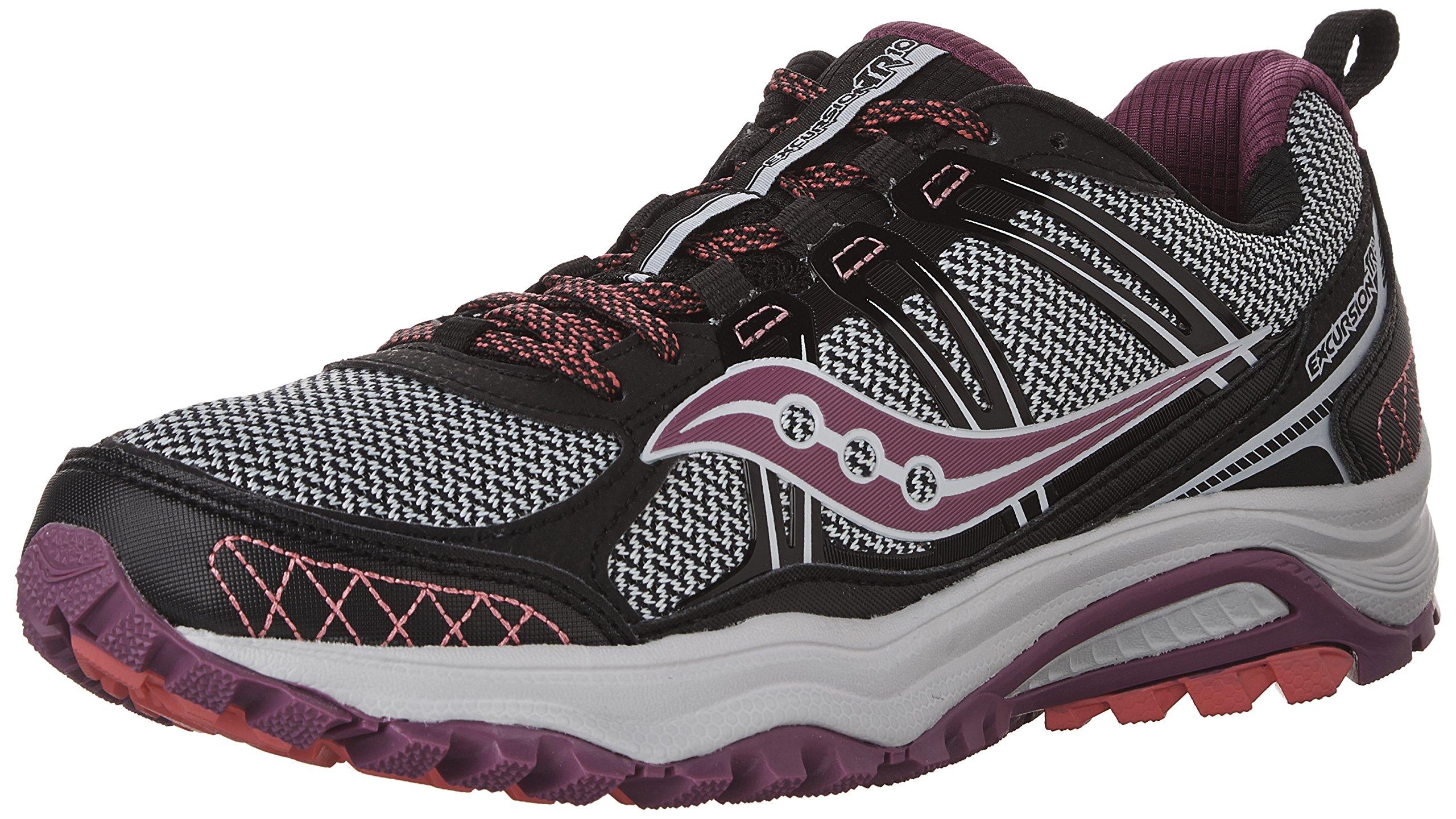 Saucony Running Shoes Excursion Tr10 Black/Berry/Coral 40m: Amazon.es: Deportes y aire libre