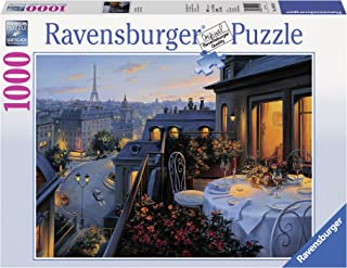 Ravensburger Paris Balcony 1000 Piece Jigsaw Puzzle for Adults – Every piece is unique, Softclick technology Means Pieces Fit Together Perfectly