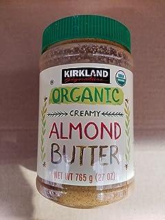 KIRKLAND SIGNATURE Organic Creamy Butter Almond, 27 Ounce, 1.69 pound (pack of 1)