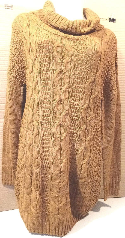 Beautiful Long Sweater Tunic Maternity Dress by Ripe Limited in