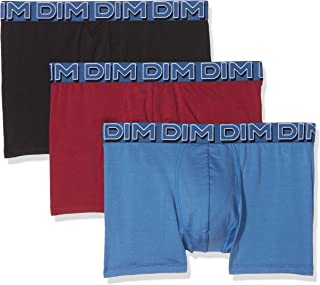 Mens Boxer Sun Cotton Stretch 3 Pack (Cherry Red/Turquin Blue/Black)