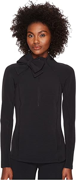Kate Spade New York x Beyond Yoga - Neck Bow 1/2 Zip Pullover