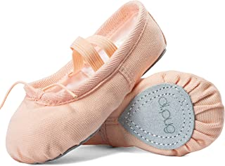 Ballet Shoes for Toddler Girls Ballet Slippers for Girl Canvas Dance Shoe