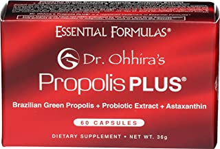 Essential Formula, Dr Ohhiras Propolis Plus, 60 Count
