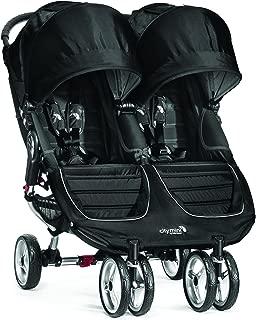 Baby Jogger City Mini Double Stroller - 2016 | Compact, Lightweight Double Stroller | Quick Fold Baby Stroller, Black/Gray
