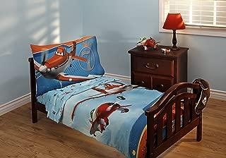 Disney Planes Let's Soar 4 Piece Toddler Bedding Set
