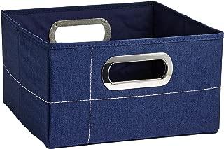 JJ Cole Storage Box, Heather Navy, 6.5
